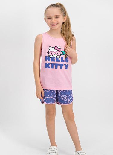 Hello Kitty Pijama Takım Pembe